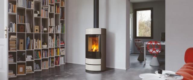 poele a bois e929round seguin duteriez. Black Bedroom Furniture Sets. Home Design Ideas