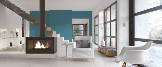 poele bois i1000p double face seguin duteriez. Black Bedroom Furniture Sets. Home Design Ideas